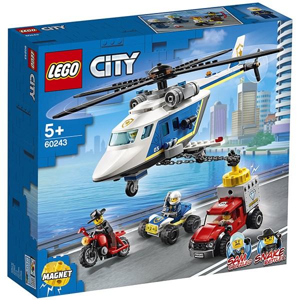 Игрушка Город Погоня на полицейском вертолёте - фото 8089