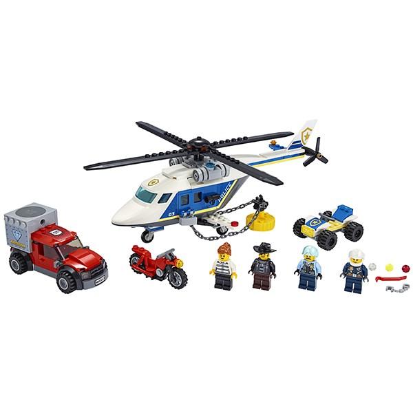 Игрушка Город Погоня на полицейском вертолёте - фото 8090