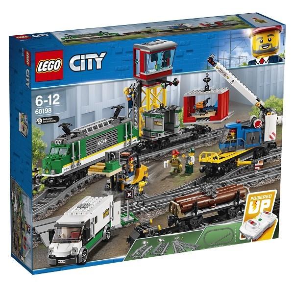 Игрушка Город Товарный поезд - фото 8092