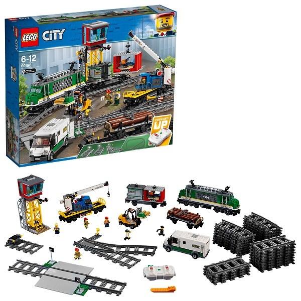 Игрушка Город Товарный поезд - фото 8096