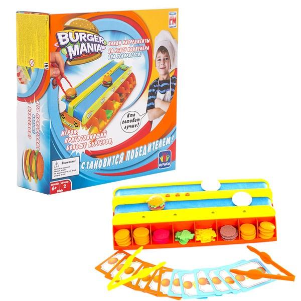 Игра Fotorama Burger Mania интерактивная - фото 8177
