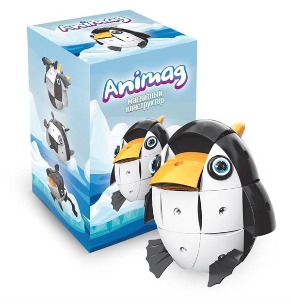 Конструктор детский магнитный Animag Пингвин - фото 8181