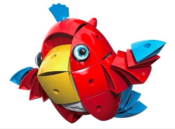 Конструктор детский магнитный Animag Попугай - фото 8191