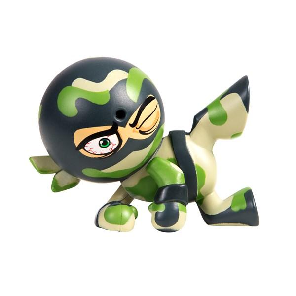 "Фарт Ниндзя.Игрушка ""Пукающий"" Ниндзя боковой удар хаки.TM Fart Ninjas - фото 8308"