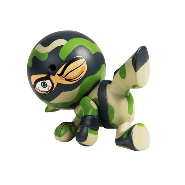 "Фарт Ниндзя.Игрушка ""Пукающий"" Ниндзя боковой удар хаки.TM Fart Ninjas - фото 8309"