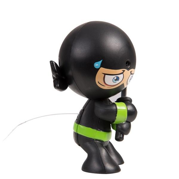 """Фарт Ниндзя.Игрушка """"Пукающий"""" Ниндзя черн. с мечом.TM Fart Ninjas - фото 8325"""