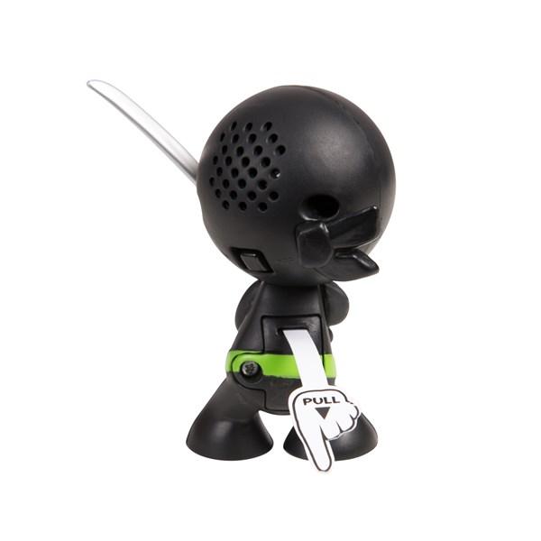 """Фарт Ниндзя.Игрушка """"Пукающий"""" Ниндзя черн. с мечом.TM Fart Ninjas - фото 8326"""