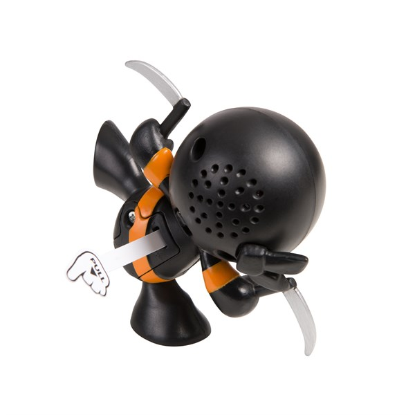 """Фарт Ниндзя.Игрушка """"Пукающий"""" Ниндзя черн. с серпами.TM Fart Ninjas - фото 8333"""