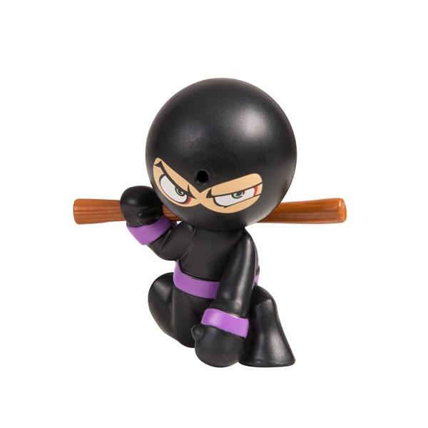 "Фарт Ниндзя.Игрушка ""Пукающий"" Ниндзя черн. с шестом.TM Fart Ninjas - фото 8337"