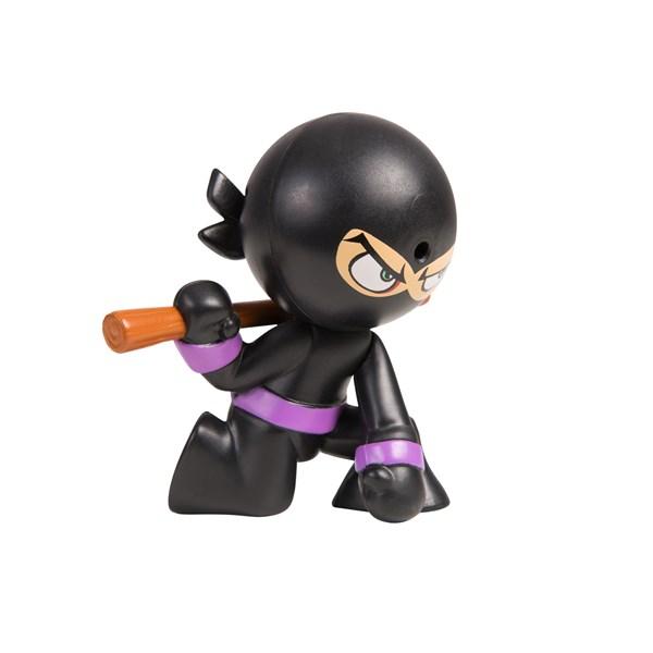 "Фарт Ниндзя.Игрушка ""Пукающий"" Ниндзя черн. с шестом.TM Fart Ninjas - фото 8338"