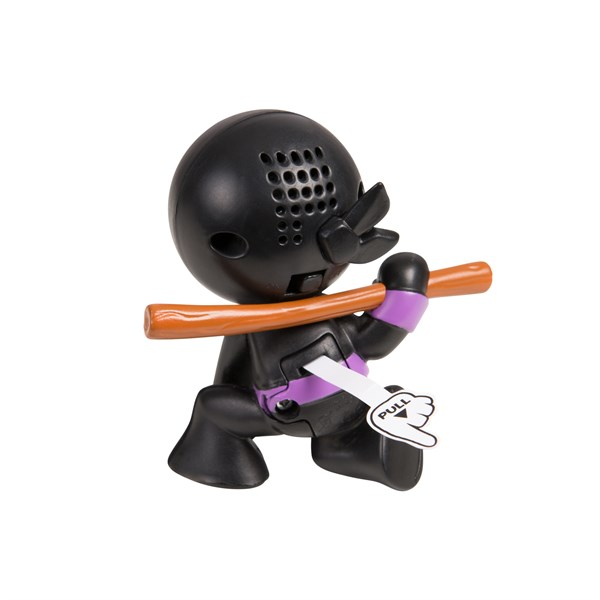 "Фарт Ниндзя.Игрушка ""Пукающий"" Ниндзя черн. с шестом.TM Fart Ninjas - фото 8339"
