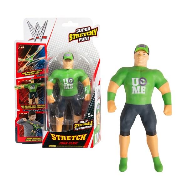 Stretch. Тянущаяся фигурка Мини-Джон Сина WWE Стретч. - фото 8378