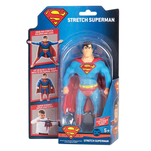 Stretch. Тянущаяся фигурка Мини-Супермен Стретч. - фото 8428