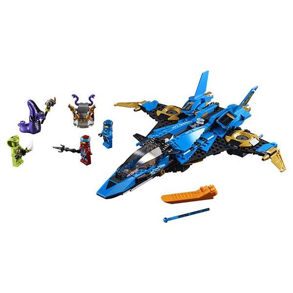 Игрушка Ниндзяго Штормовой истребитель Джея - фото 8653
