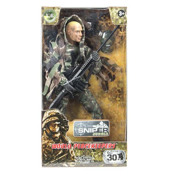 """Игровой набор """"WP. Снайпер"""" 1:6, 4 в асс. - фото 8669"""