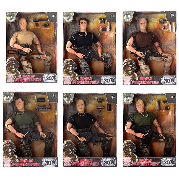 """Игровой набор """"WP. Универсальный солдат"""" 1:6, 6 в асс. - фото 8671"""