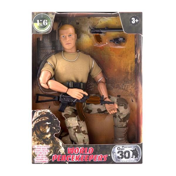 """Игровой набор """"WP. Универсальный солдат"""" 1:6, 6 в асс. - фото 8672"""