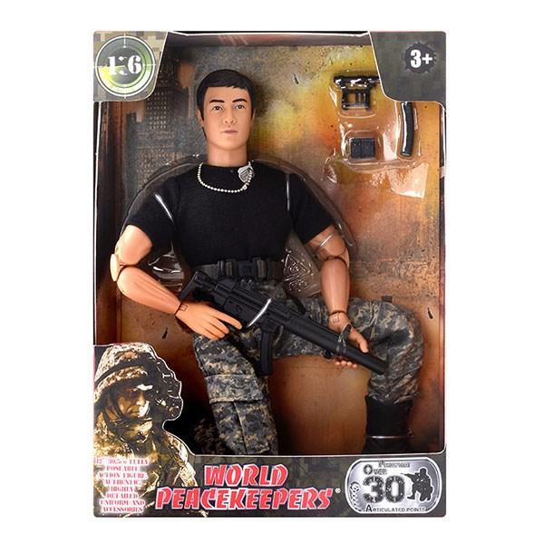 """Игровой набор """"WP. Универсальный солдат"""" 1:6, 6 в асс. - фото 8673"""