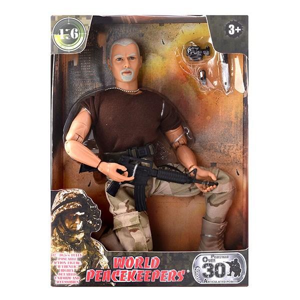 """Игровой набор """"WP. Универсальный солдат"""" 1:6, 6 в асс. - фото 8674"""