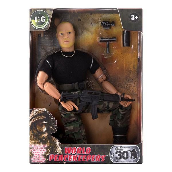 """Игровой набор """"WP. Универсальный солдат"""" 1:6, 6 в асс. - фото 8676"""