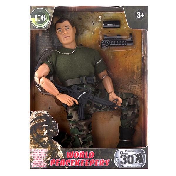 """Игровой набор """"WP. Универсальный солдат"""" 1:6, 6 в асс. - фото 8677"""