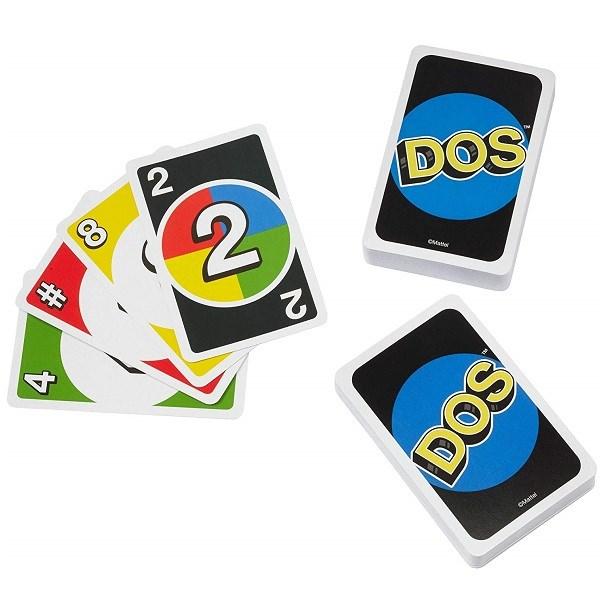 Uno® Карточная игра DOS - фото 8696