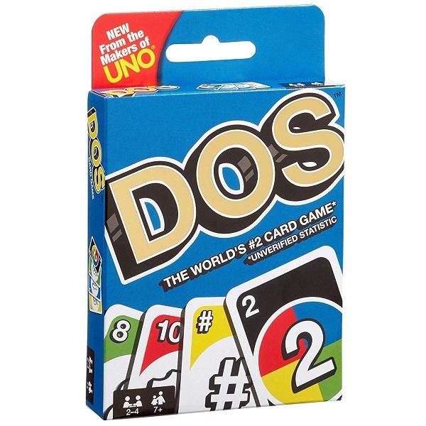 Uno® Карточная игра DOS - фото 8698