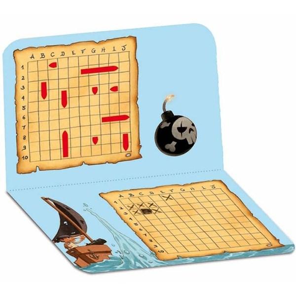 Djeco Мини игра Морской бой - фото 8702