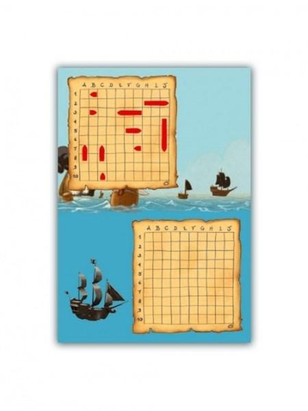 Djeco Мини игра Морской бой - фото 8703
