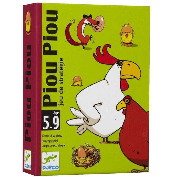 Djeco Детская наст.карт. игра Чик-чирик - фото 8731
