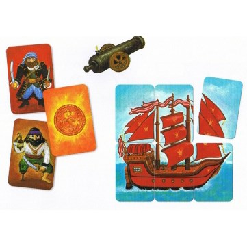 Djeco Детская наст.карт. игра Пират - фото 8739