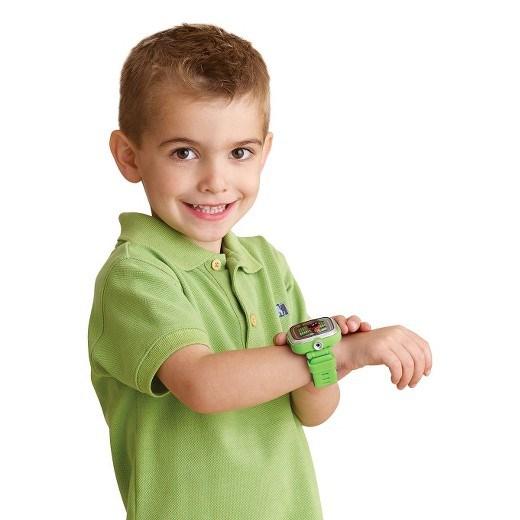 VTECH Детские наручные часы Kidizoom SmartWatch DX  зеленого цвета - фото 8756
