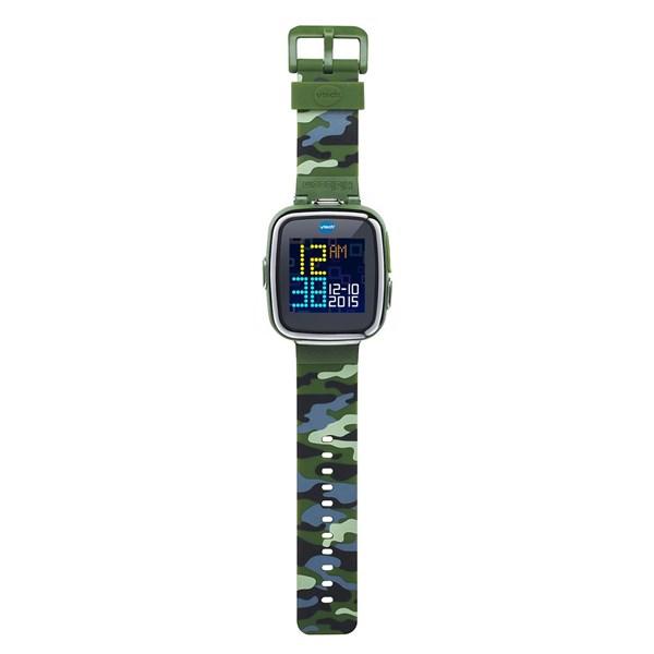 VTECH Детские наручные часы Kidizoom SmartWatch DX  камуфляжного цвета - фото 8757