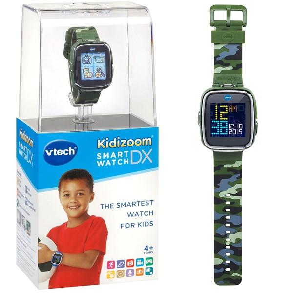 VTECH Детские наручные часы Kidizoom SmartWatch DX  камуфляжного цвета - фото 8759