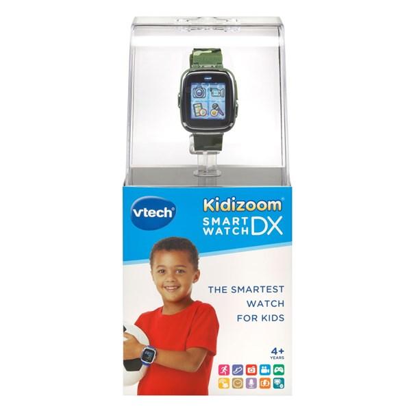 VTECH Детские наручные часы Kidizoom SmartWatch DX  камуфляжного цвета - фото 8760