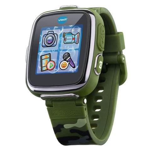 VTECH Детские наручные часы Kidizoom SmartWatch DX  камуфляжного цвета - фото 8761