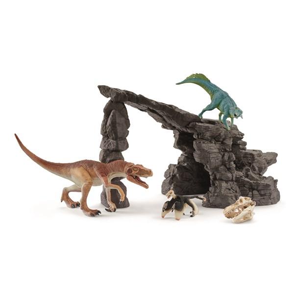 SCHLEICH Набор Пещера динозавров - фото 8779