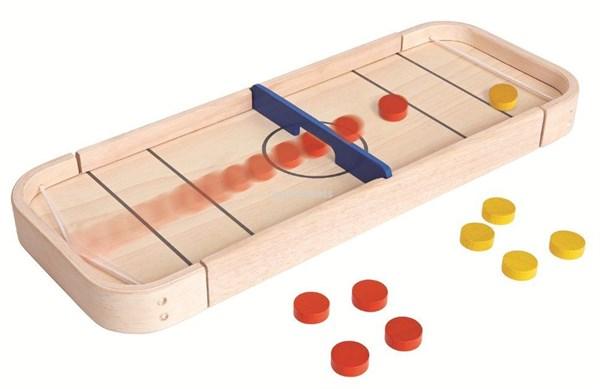 PLAN TOYS Настольная игра Шаффлборд 2 в 1 - фото 8808