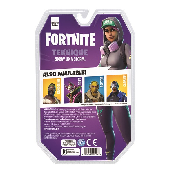Игрушка Fortnite - фигурка Teknique с аксессуарами - фото 8852