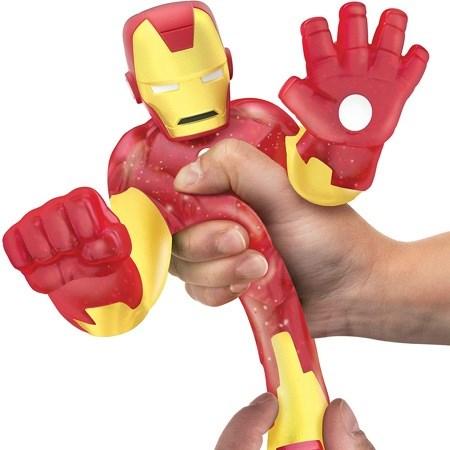 Гуджитсу. Игрушка тянущаяся фигурка Железный Человек. ТМ GooJitZu - фото 9613