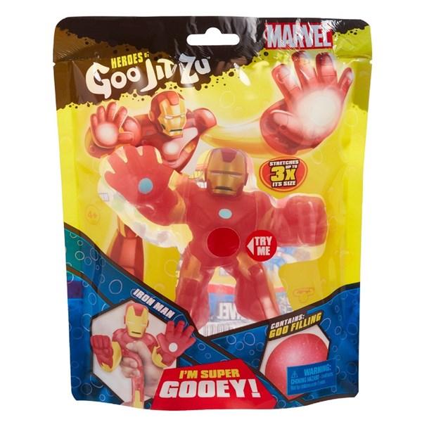 Гуджитсу. Игрушка тянущаяся фигурка Железный Человек. ТМ GooJitZu - фото 9614