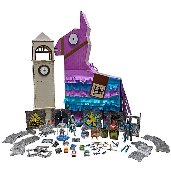Игрушка Fortnite - Большая Лама-пиньята с 100 аксессуарами - фото 9636