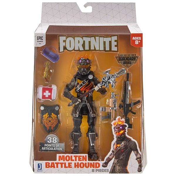 Игрушка Fortnite - фигурка героя Molten Battle Hound с аксессуарами (LS) - фото 9640