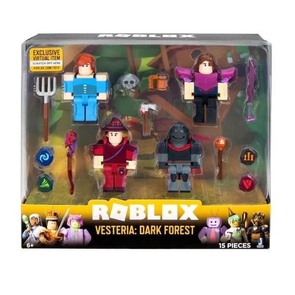 Игрушка Roblox - фигурки героев Vesteria: Dark Forest 4 шт с аксессуарами - фото 9702
