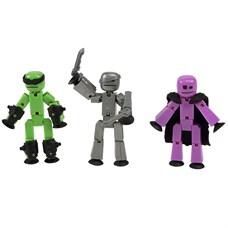 Игрушка 3 фигурки Stikbot Off the Grid, Raptus