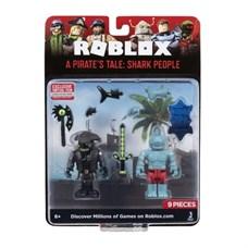 Игрушка Roblox - фигурки героев A Pirate's Tale: Shark People 2 шт с аксессуарами