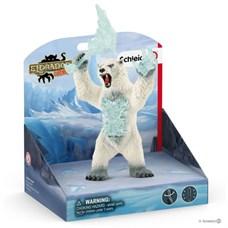 SCHLEICH Снежный медведь с оружием