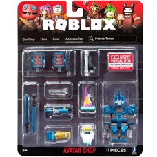 Игрушка Roblox - фигурка героя Future Tense (Avatar Shop) с аксессуарами