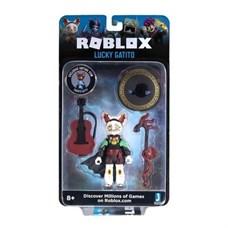 Игрушка Roblox - фигурка героя Lucky Gatito (Imagination) с аксессуарами