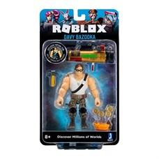 Игрушка Roblox - фигурка героя Davy Bazooka (Imagination) с аксессуарами